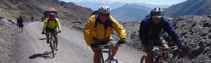 Andes to Amazon Charity Bike Ride