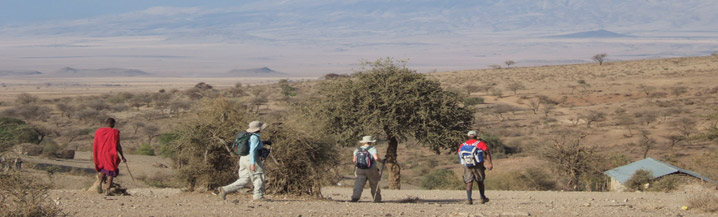 Footsteps of the Maasai Charity Challenge Images