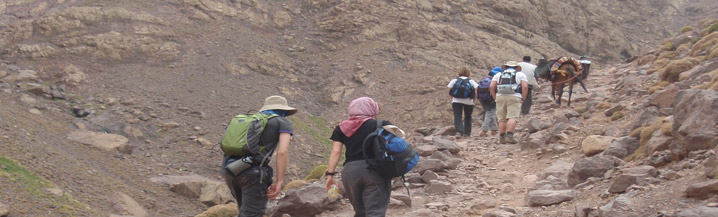 High Atlas Mountain Trek Charity Challenge Images