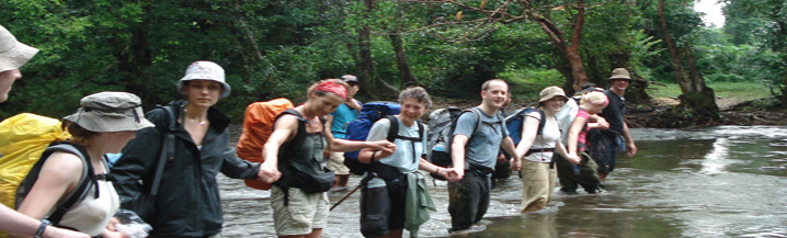 Thailand Jungle Experience Charity Challenge Trek Images